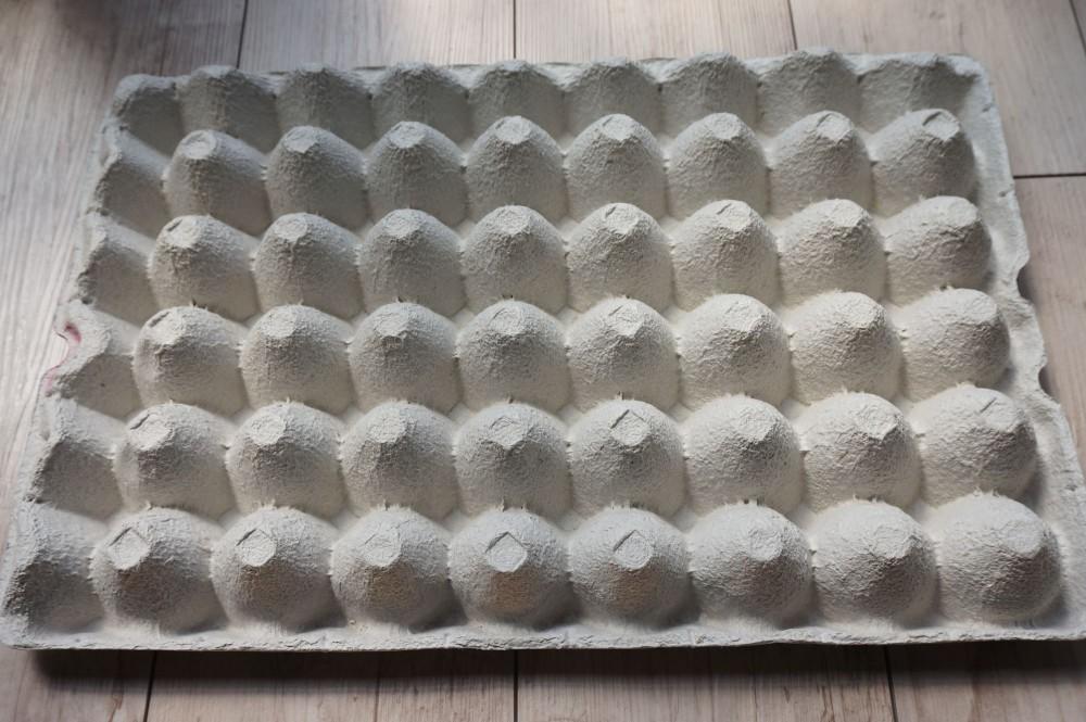 中に卵割れ防止の緩衝材