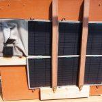 7か月弱毎日使っていたSUNKINGDOM39Wソーラーパネル故障、、、多分雨で濡れたから?発電した電力は58.8KWHでした♪