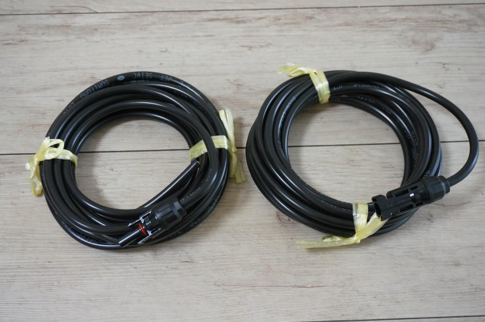 5m*2本の延長ケーブル