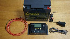 プチ太陽光発電キット:モバイルソーラー充電器で車のバッテリーに蓄電すれば雨の日でもモバイルバッテリーやスマホを充電できる!